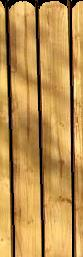 150 x 22 x 1.2MT ROUND TOP TANALISED FENCE BOARD