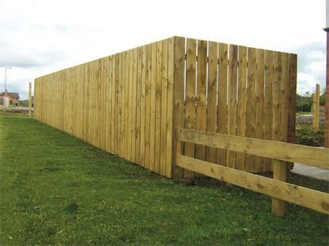 150 x 22 x 1.6MT TANALISED TIMBER FENCE BOARD