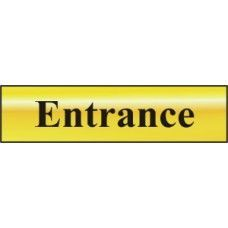 DOOR SIGN ENTRANCE 200x50MM 6024