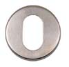 ESCUTCHEON SATIN CHROME HK319P
