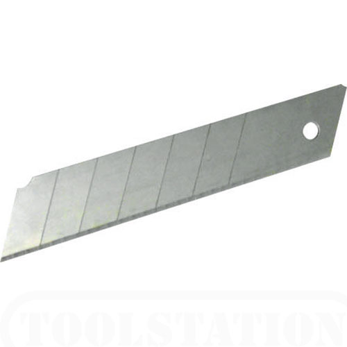 KNIFE SNAP OFF SPARE BLADES 9MM (PACK 5) STANLEY