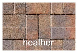 PAVIOR PEDESTA HEATHER 200 x 100 x 50MM (PER SQ METRE)
