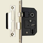 SASH LOCK 3 LEVER NICKLE PLATED 2.5in ERA 473 62