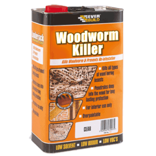 WOODWORM KILLER 5ltr  WBRM104WK05