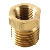 BRASS BUSHING 3/4in x 1/2in