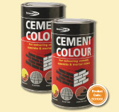 CEMENT DYE YELLOW 1kg