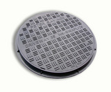 CHAMBER PLASTIC LID & FRAME MANHOLE COVER 450MM (A15)