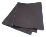 EMERY CLOTH 80 GRIT MEDIUM BLUE BACK PER SHEET