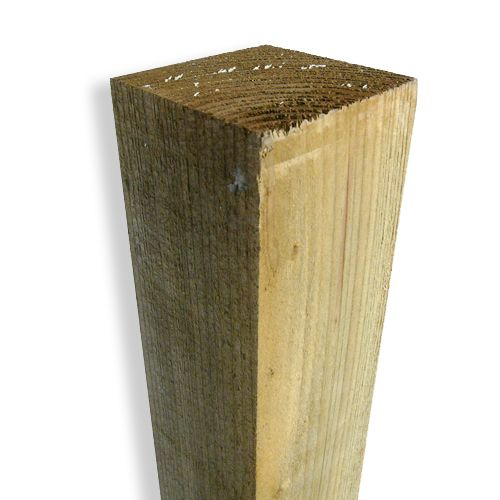 FENCE POST TREATED 4in x 4in x 6ft (100MM x 100MM x 1.8MT)