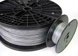 FENCE WIRE STRAINING/BULL GALVANISED 3.15MM 5kg COIL 80MT