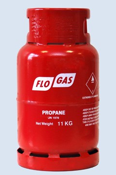 GAS REFILL PROPANE RED 10.89kg (24lb)