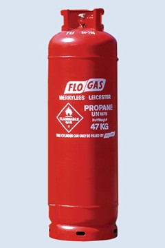 GAS REFILL PROPANE RED 47kg (104lb)