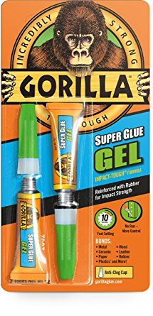 GORILLA SUPER GLUE GEL (2 TUBES) 3g EACH