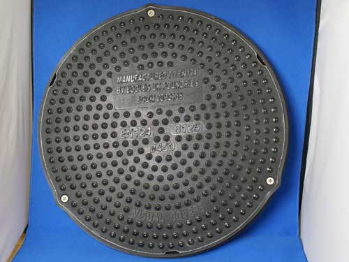 MANHOLE COMPOSITE PLASTIC HEAVY DUTY ROUND 450MM (B125)