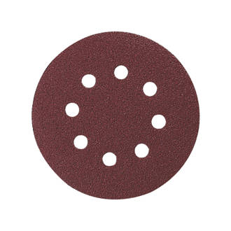 RANDOM ORBIT SANDING PAPER 80G 125MM (PACK 5) 2608605069