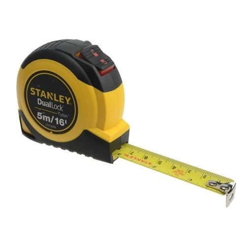 STANLEY TYLON DUAL LOCK S/TAPE 5M/16ft MET/IMP
