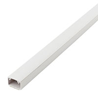 TRUNKING PVC SELF ADHESIVE 3MT x 16MM x 16MM
