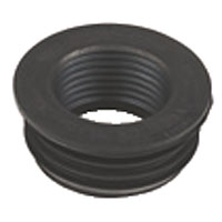 WASTE RUBBER ADAPTOR 40MM BW2