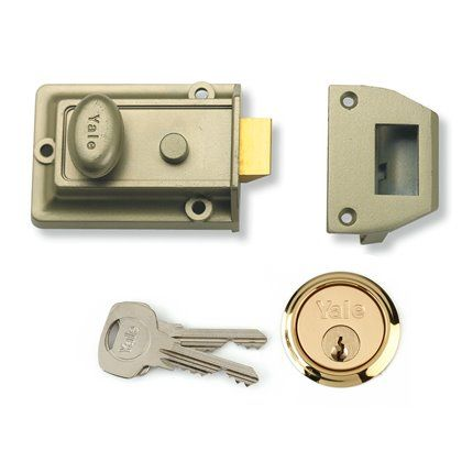 YALE NIGHTLATCH  P777ENBPB60
